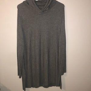 Cowl- neck sweater